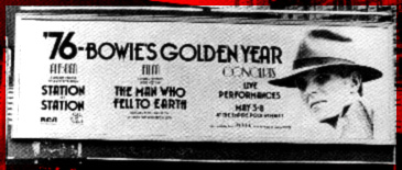 advertisement for album, movie and tour, 1976
